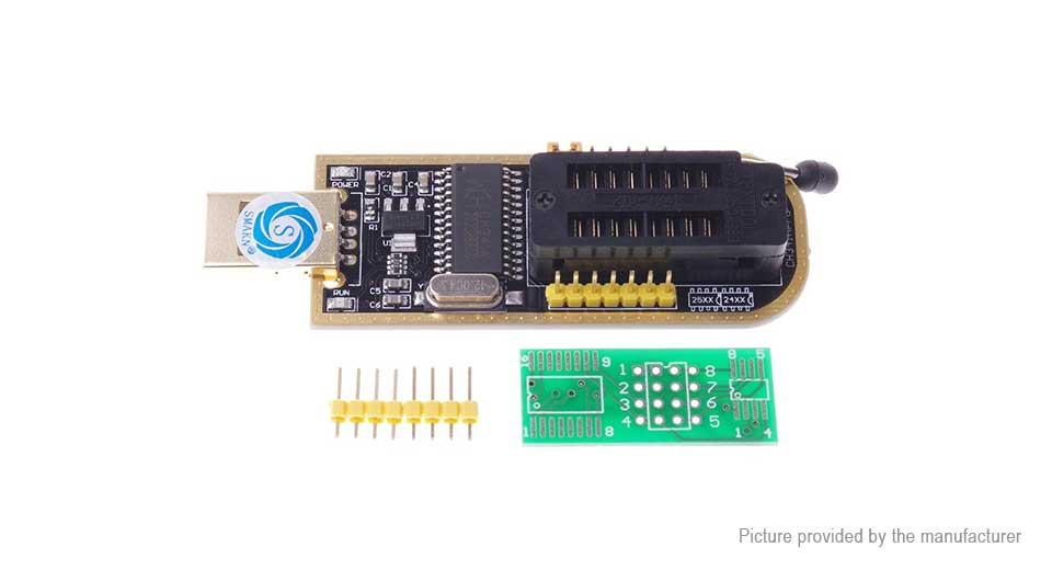 DIY Electronics 4917600 CH341A 24 25 Series EEPROM Flash BIOS USB Programmer