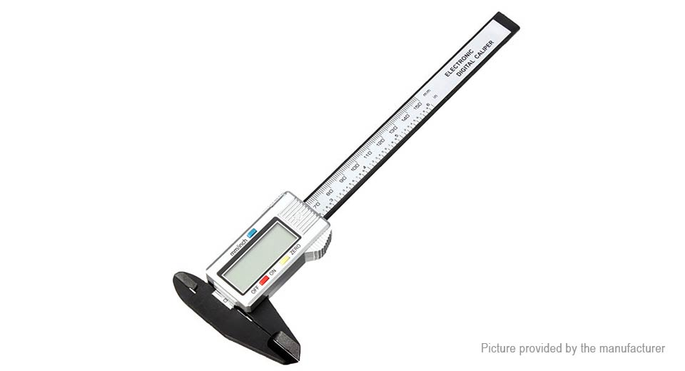 Image of 150mm Composite Digital Electronic Caliper Ruler