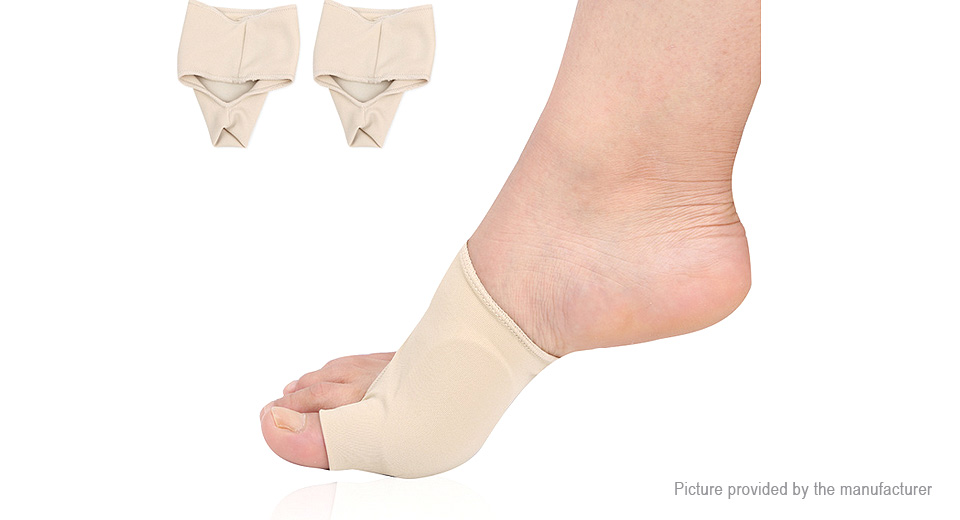 Footful Bunion Relief Hallux Valgus Forefoot Sleeve Cushion Pad (Size S/Pair)