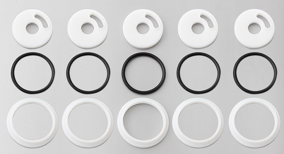 Authentic Vapesoon Seal Rings Set for Smoktech TFV4 Clearomizer (15 Pieces)