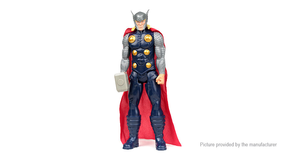 "Image of 12"" Thor Character Stand Model Toy"