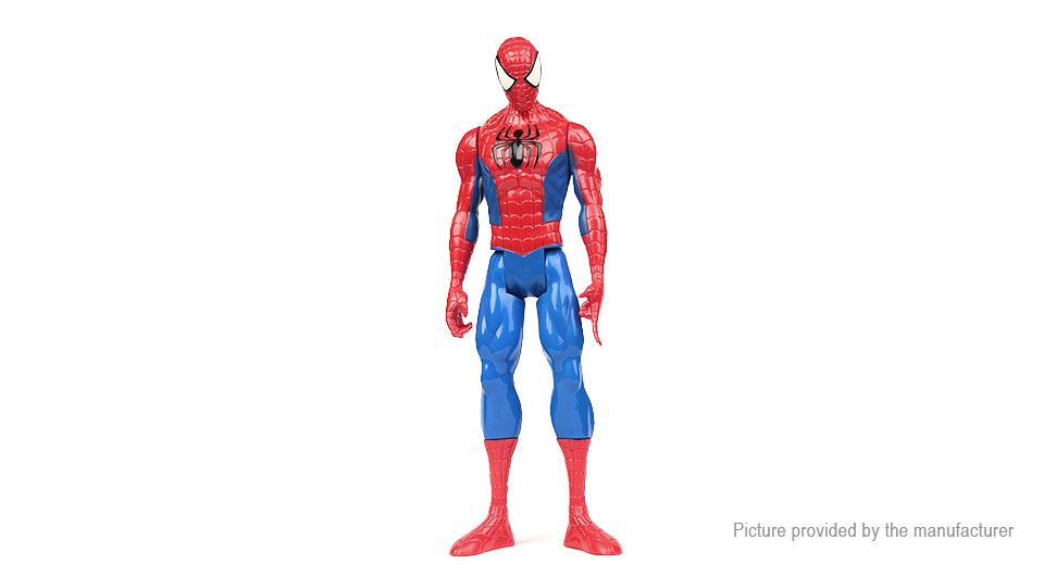 "12"" Spider-Man Character Stand Model Toy"