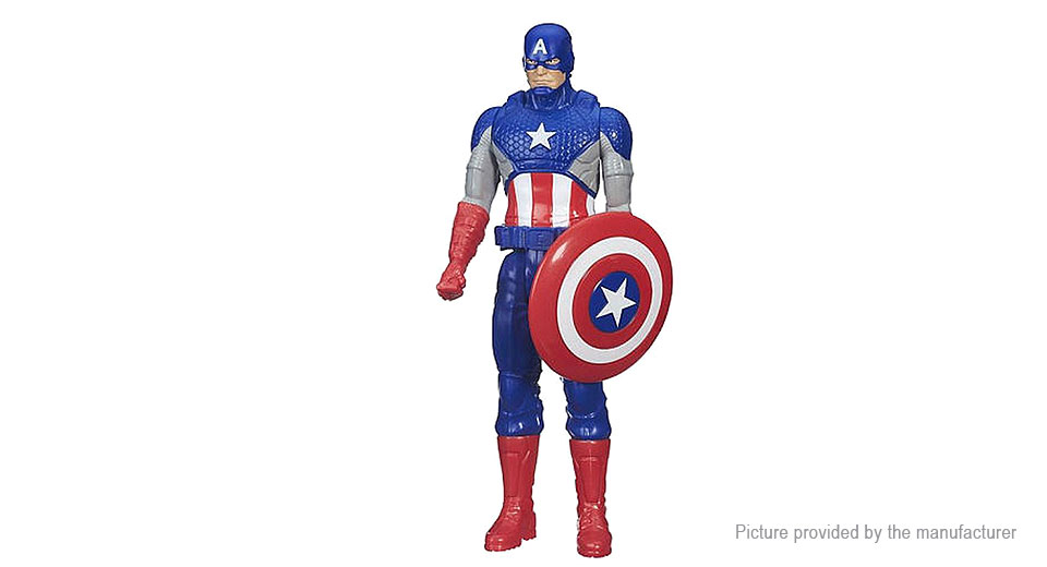 "12"" Avengers Captain America Character Stand Model Toy"