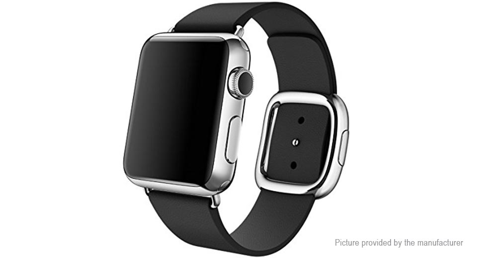Replacement Leather Watchband for Apple ...