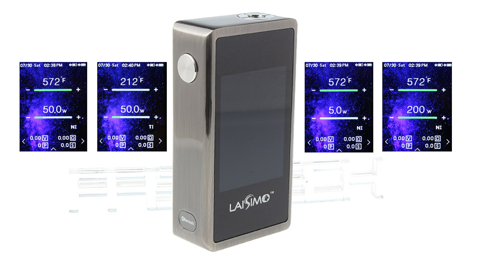 Product Image: authentic-laisimo-l3-200w-tc-vw-apv-box-mod