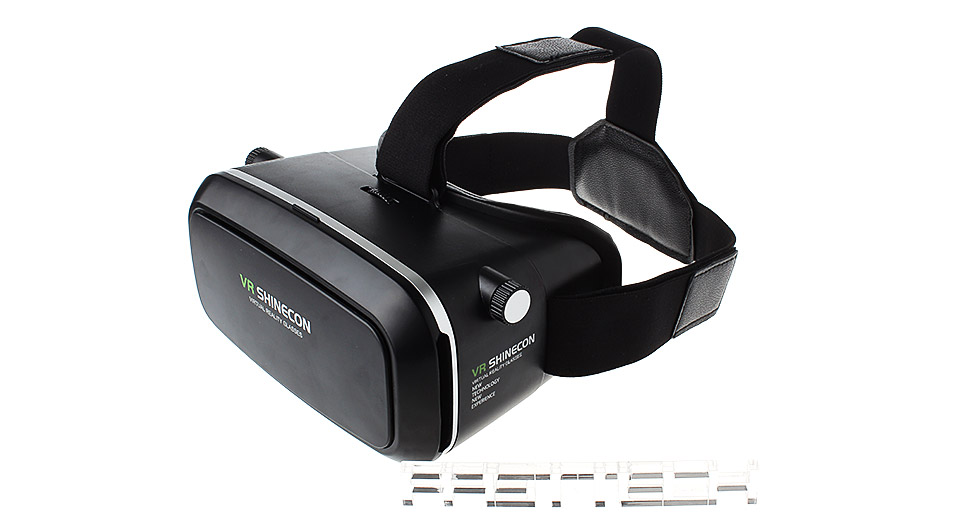 VR SHINECON Virtual Reality VR Headset 3D Goggles