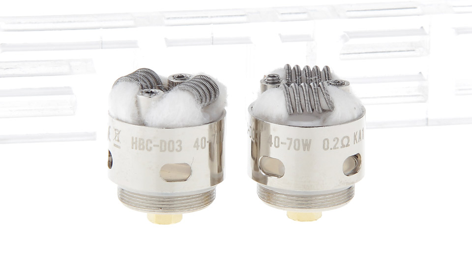Image of Authentic GeekVape HBC-D03 Coil Head for Eagle Clearomizer (2-Pack)