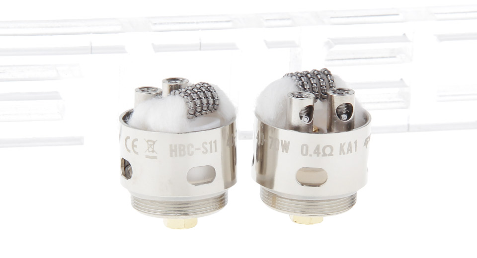 Image of Authentic GeekVape HBC-S11 Coil Head for Eagle Clearomizer (2-Pack)