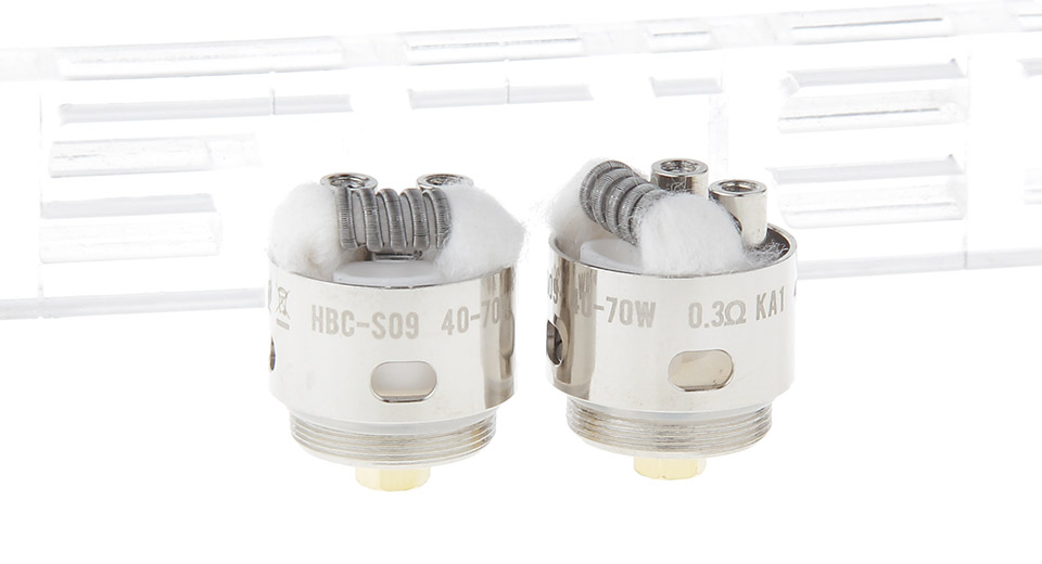Image of Authentic GeekVape HBC-S09 Coil Head for Eagle Clearomizer (2-Pack)