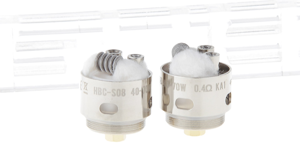 Image of Authentic GeekVape HBC-S08 Coil Head for Eagle Clearomizer (2-Pack)