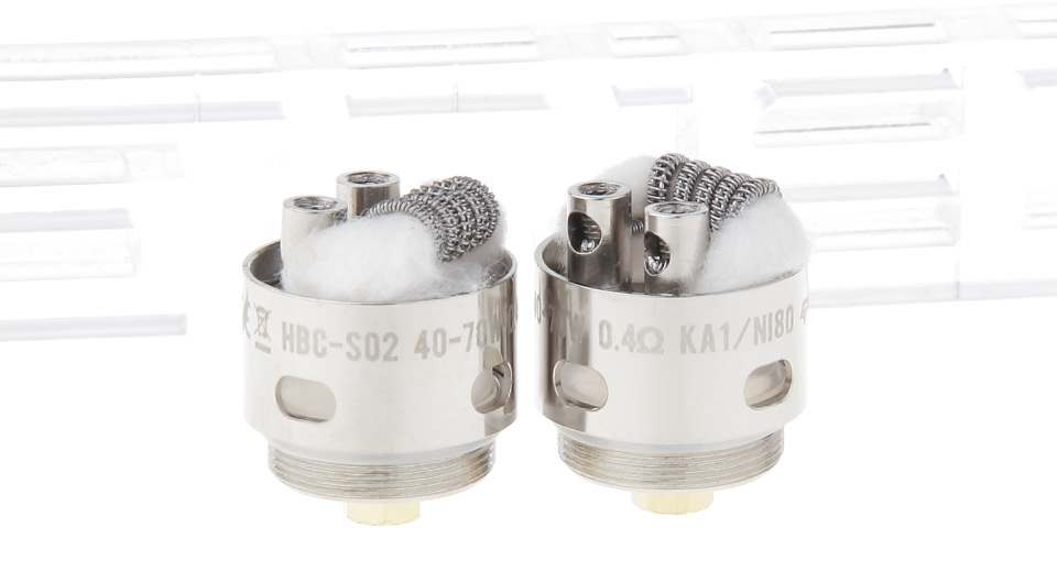 Image of Authentic GeekVape HBC-S02 Coil Head for Eagle Clearomizer (2-Pack)