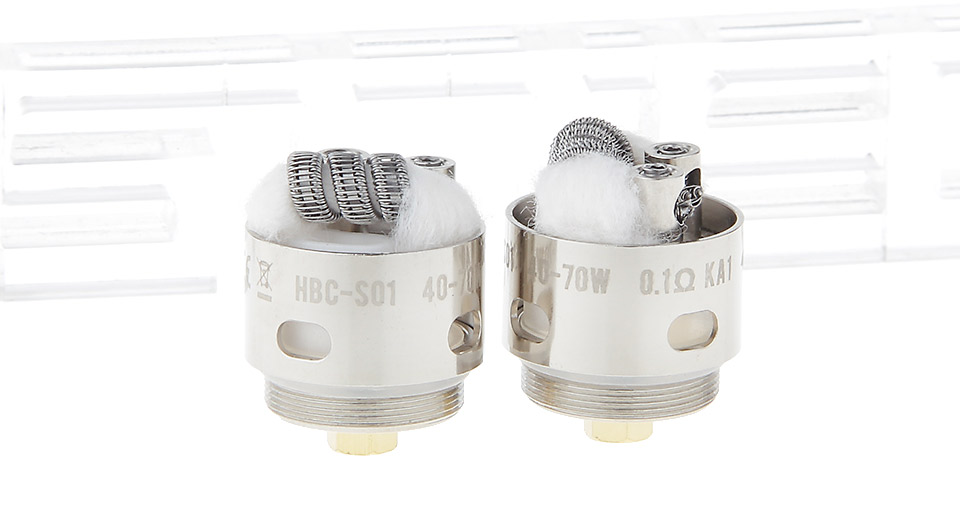 Image of Authentic GeekVape HBC-S01 Coil Head for Eagle Clearomizer (2-Pack)