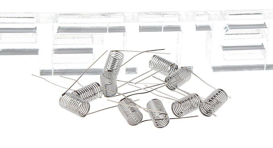 Image of Authentic IJOY Stainless Steel TSS Coil for RBA Atomizers (10-Pack)