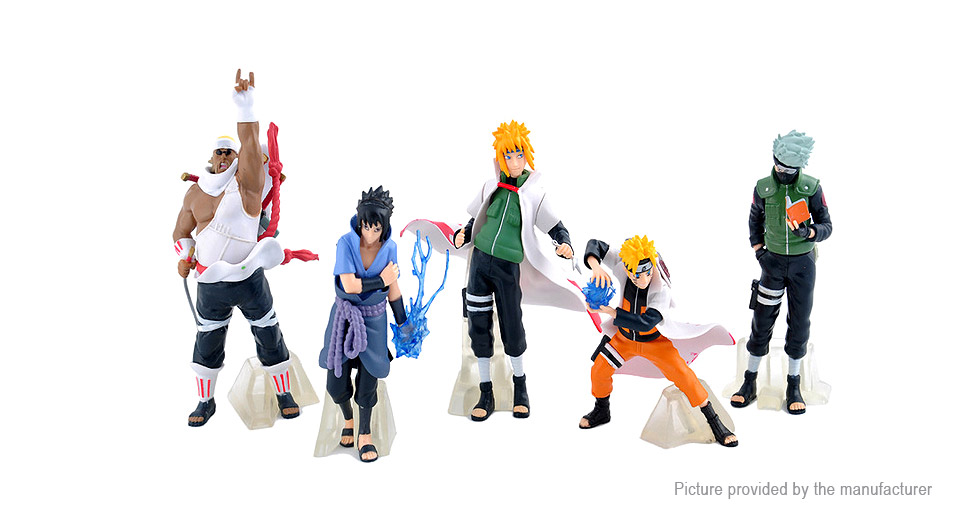 Naruto Action Figure Car/Home Ornaments PVC Toy (32th Generation)