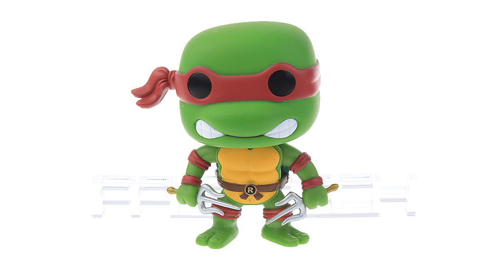 Teenage Mutant Ninja Turtles Action Figure Doll Toy (Raphael)