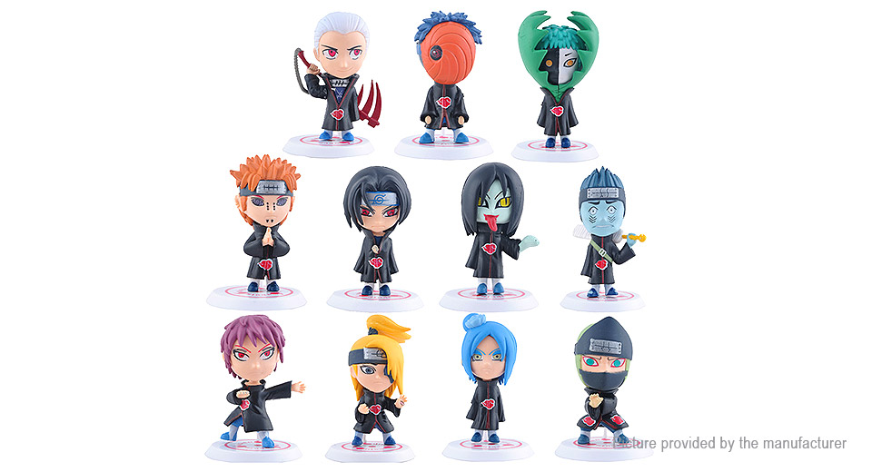 Naruto Action Figure Car/Home Ornaments PVC Toy (17th Generation)