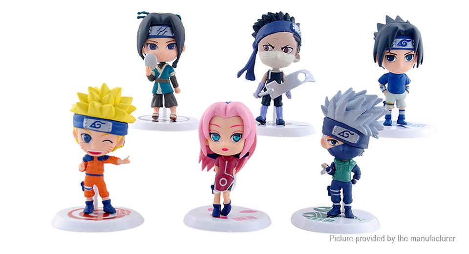 Naruto Action Figure Car/Home Ornaments PVC Toy (18th Generation)