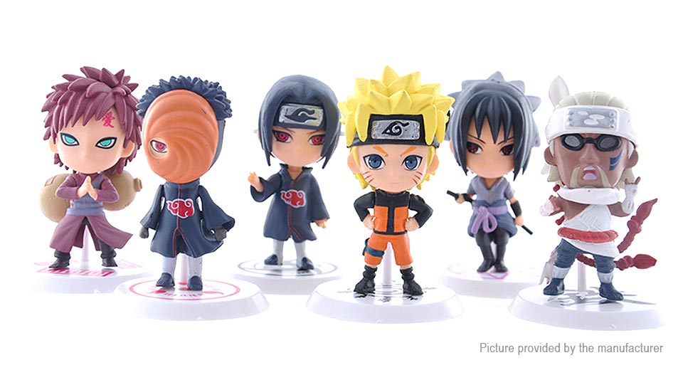 Naruto Action Figure Car/Home Ornaments PVC Toy (19th Generation)