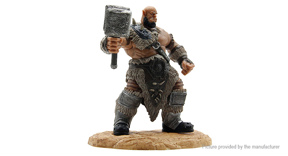 World of Warcraft Action Figure Toy (Ogrim Doomhammer)