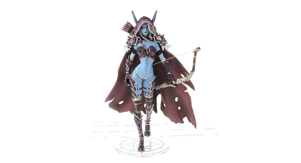 World of Warcraft Action Figure Toy (Sylvanas Windrunner)