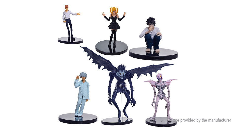 Death Note Light Yagami Action Figure Doll Toy Set (6-Piece Set)