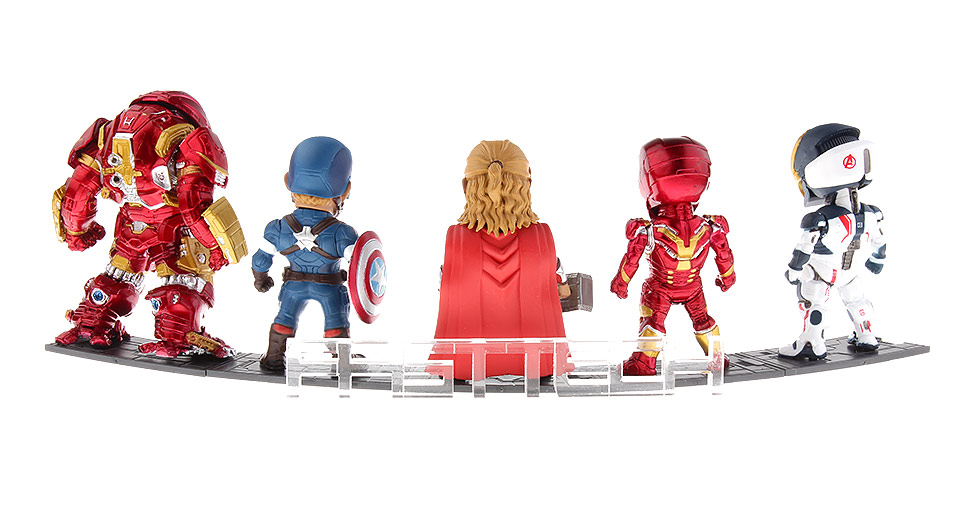 Marvel the Avengers Action Figure Doll Toy Set (8th Generation)