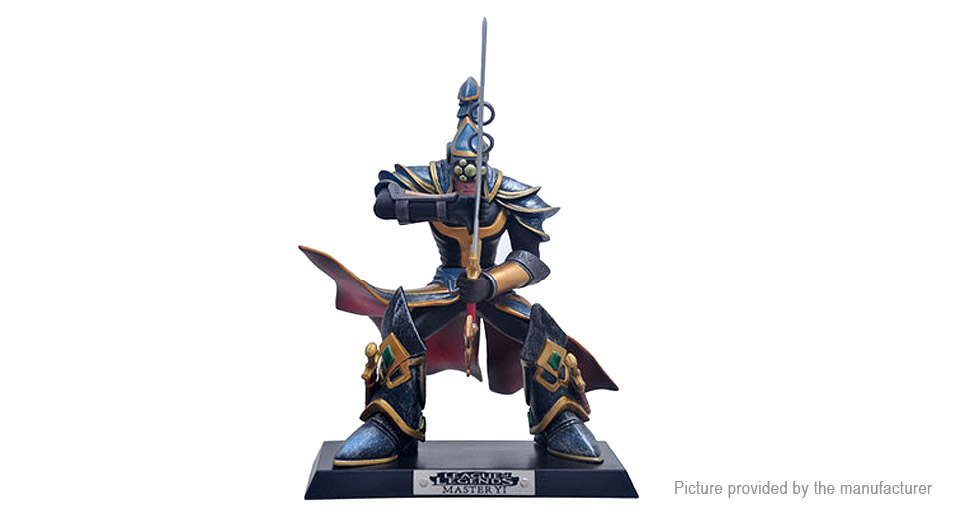 LOL League of Legends Master Yi the Wuju Bladesman Figure Toy