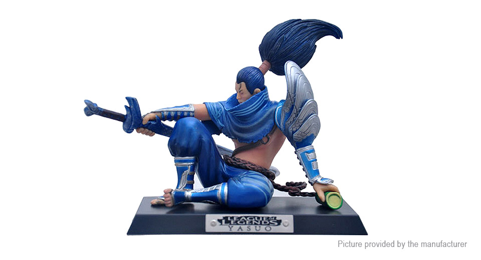 LOL League of Legends Yasuo the Unforgiven Figure Toy