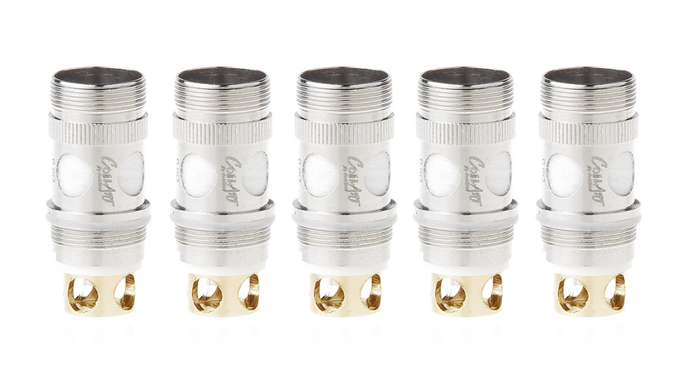 Image of Authentic CoilArt Replacement CTBVC CTNOTCH Coil Head (5-Pack)