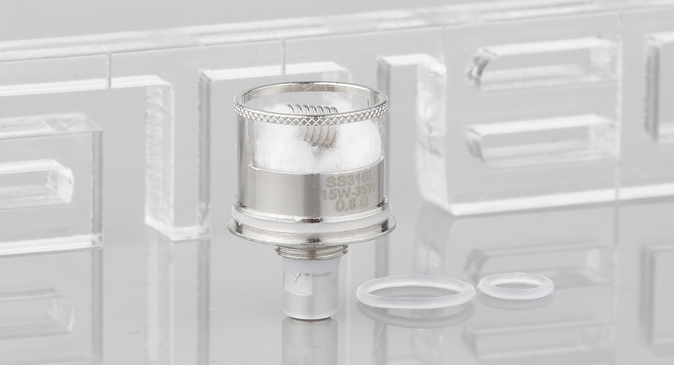 Image of Authentic Steam Crave Aromamizer RDTA OCC SS Single Coil Head