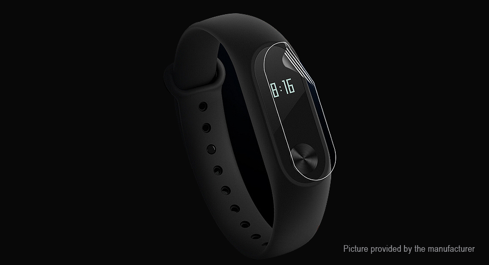 Image of Clear PET Screen Protector for Xiaomi Mi Band 2