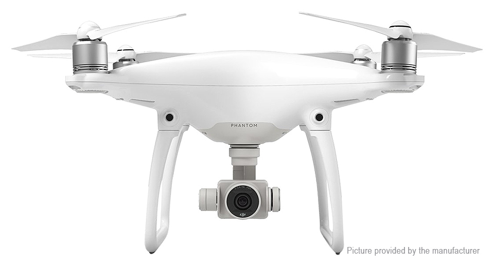 Image of Authentic DJI Phantom 4 w/ 2 Extra Batteries (3 Batteries Total)