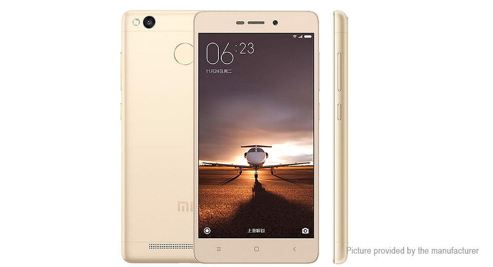 "Authentic Xiaomi Redmi 3S 5"" LTE Smartphone (16GB/US)"