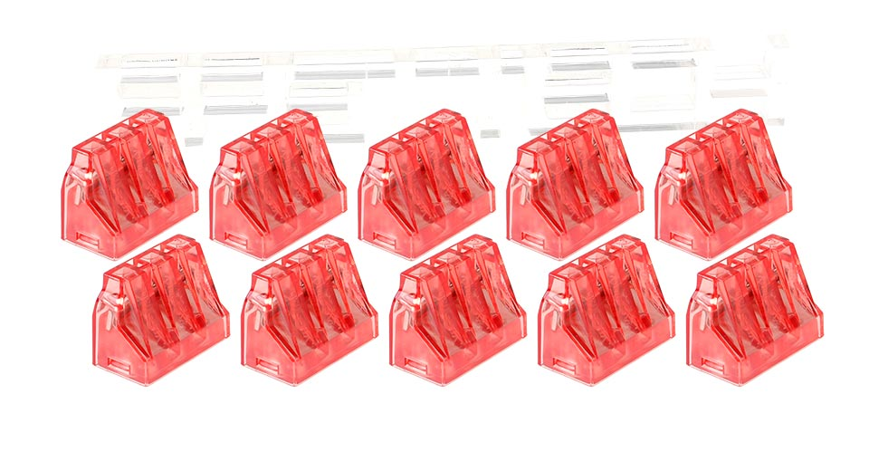 3 Pin Wire Terminal Block Connector (10-Pack)