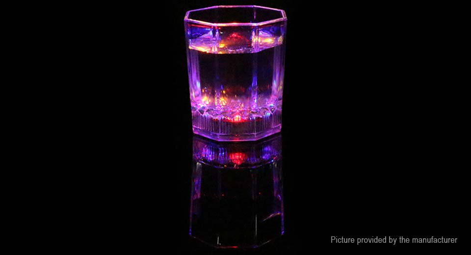 Colorful LED Flash Light-up Cup Bar Night Drink Cup