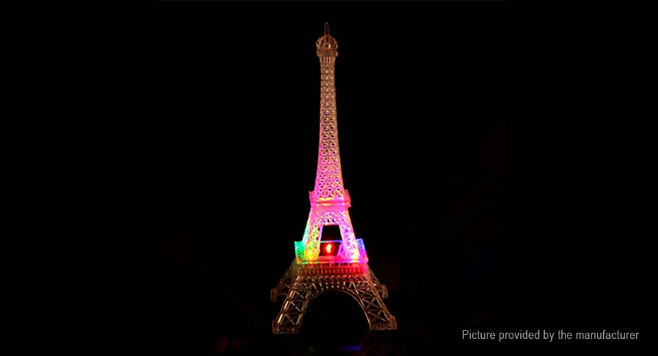 LED Color Changing Eiffel Tower Creative Toy Gift