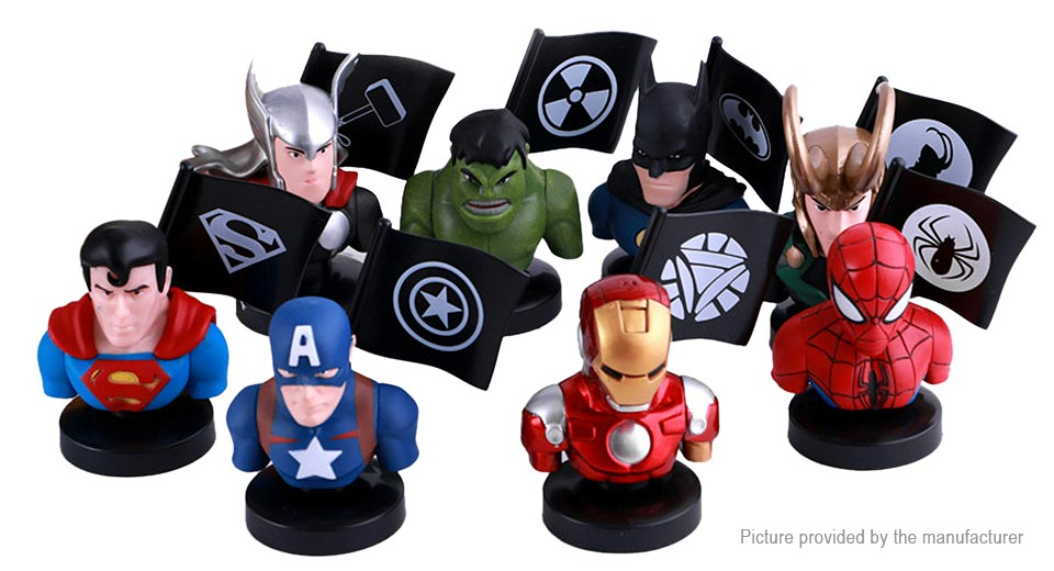 The Avengers Figure Doll Toy Set (8-Piece Set)