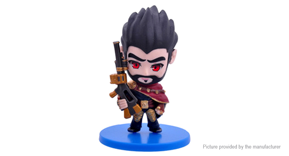 League of Legends LOL Graves the Outlaw Figure Toy