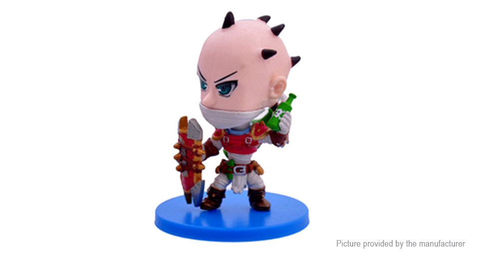 League of Legends LOL Singed the Mad Chemist Figure Toy