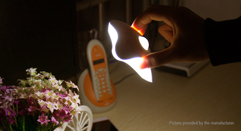 Image of Bowknot Style Battery Powered LED Night Light
