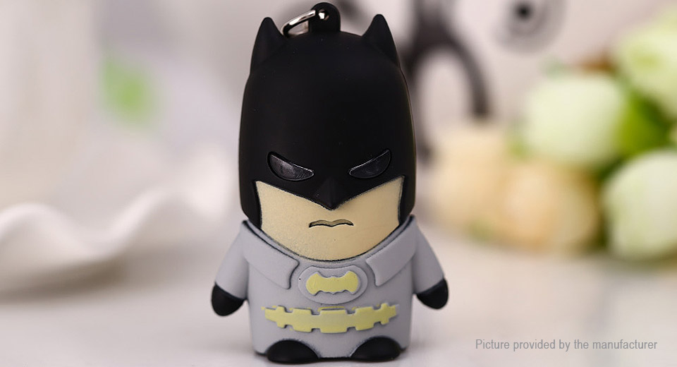 Batman Styled LED Keychain Pendant Decoration