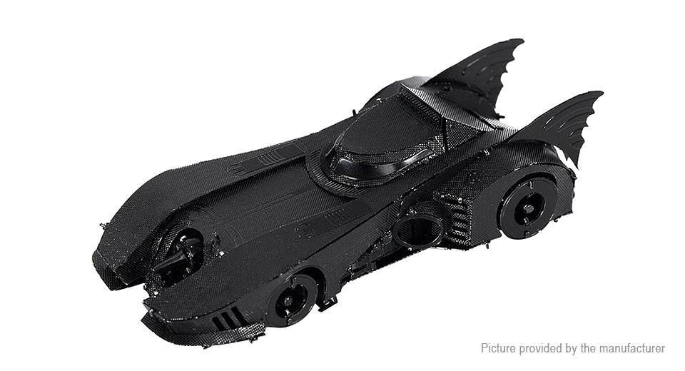 Image of 1989 Batmobile 3D Metallic Puzzle Jigsaw Educational Toy