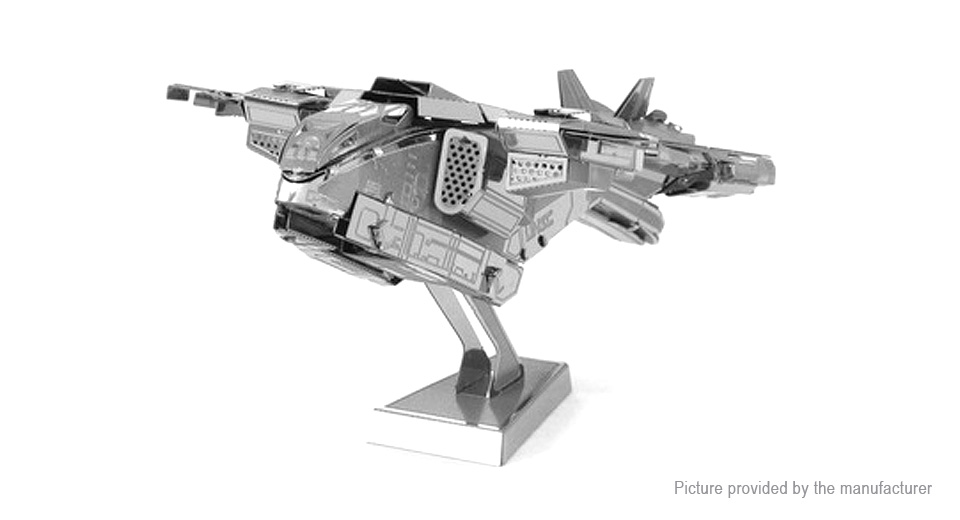 Image of AP Halo Pelican Dropship 3D Metallic Puzzle Jigsaw Educational Toy