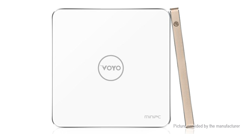 VOYO V3 Quad-Core Mini PC (32GB/UK) V3, 32GB, Gold, Windows 10, UK
