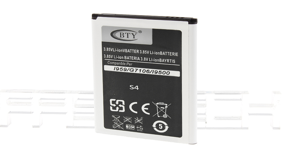 Authentic BTY 3.85V 2800mAh Rechargeable Li-ion Battery for Samsung Galaxy S4