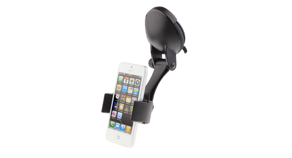 JM JM-P01 Car Suction Cup Cell Phone Holder Stand