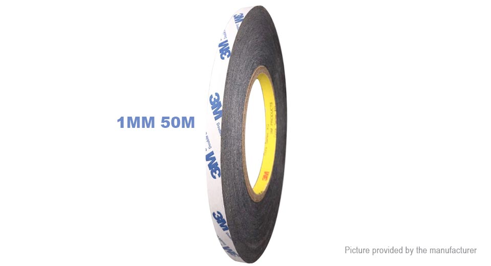 Image of Non-woven Double Sided Adhesive Tape (1mm*50m)