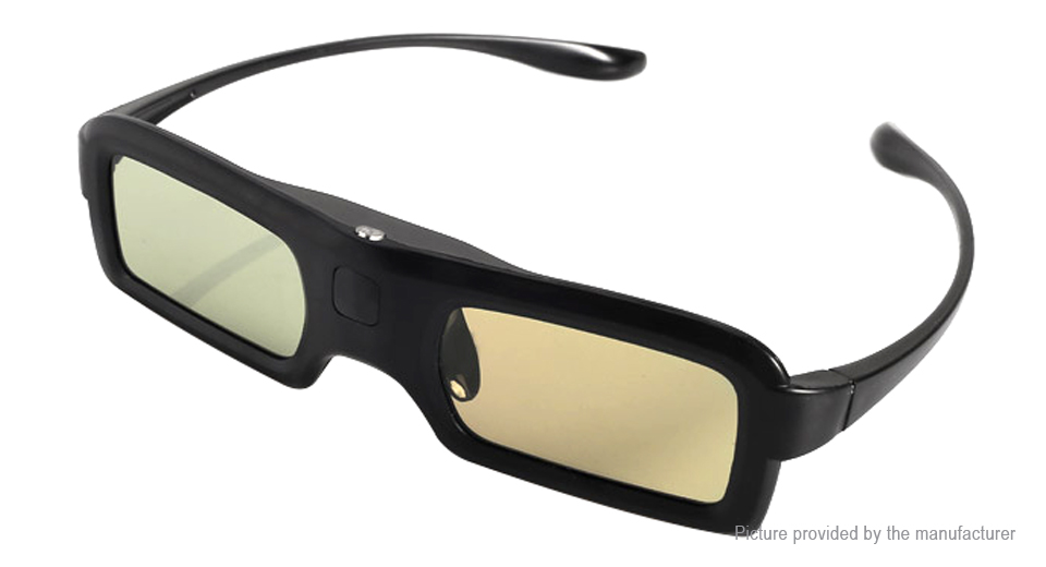 USB Rechargeable 3D Active Shutter Glasses