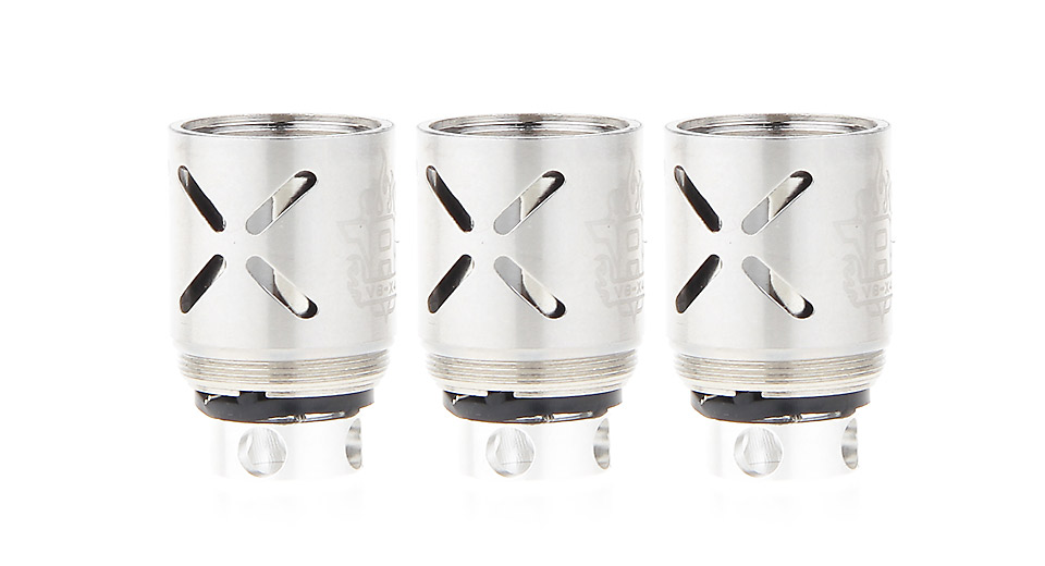 Image of Authentic Smoktech SMOK TFV8 Clearomizer Replacement V8-X4 Coil Head (3-Pack)