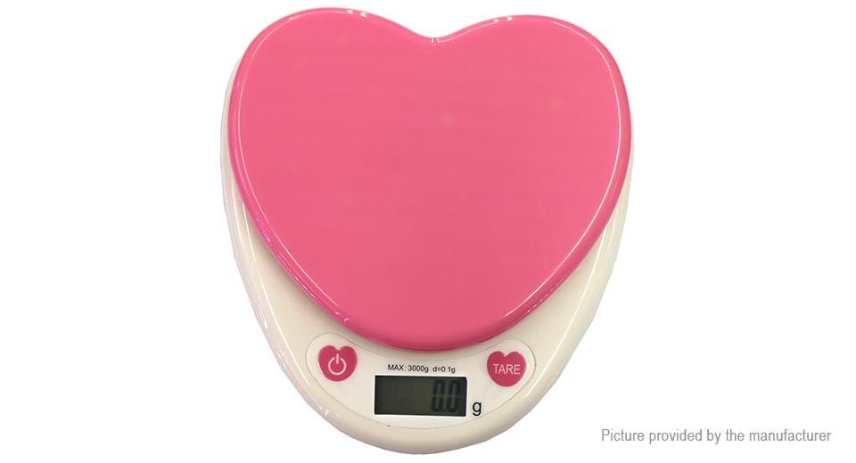 """Image of 1.2"""" LCD Precision Kitchen Digital Scale (3000g/0.1g)"""